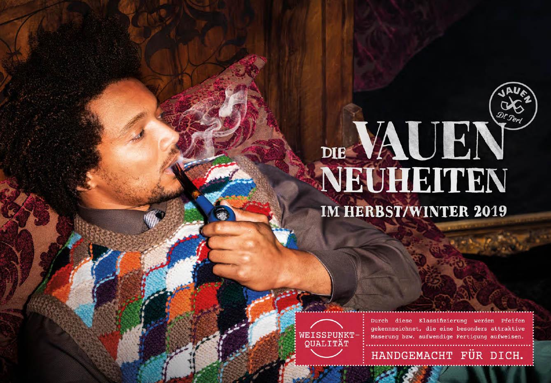 VAUEN Pfeifen Neuheiten - Herbst 2019