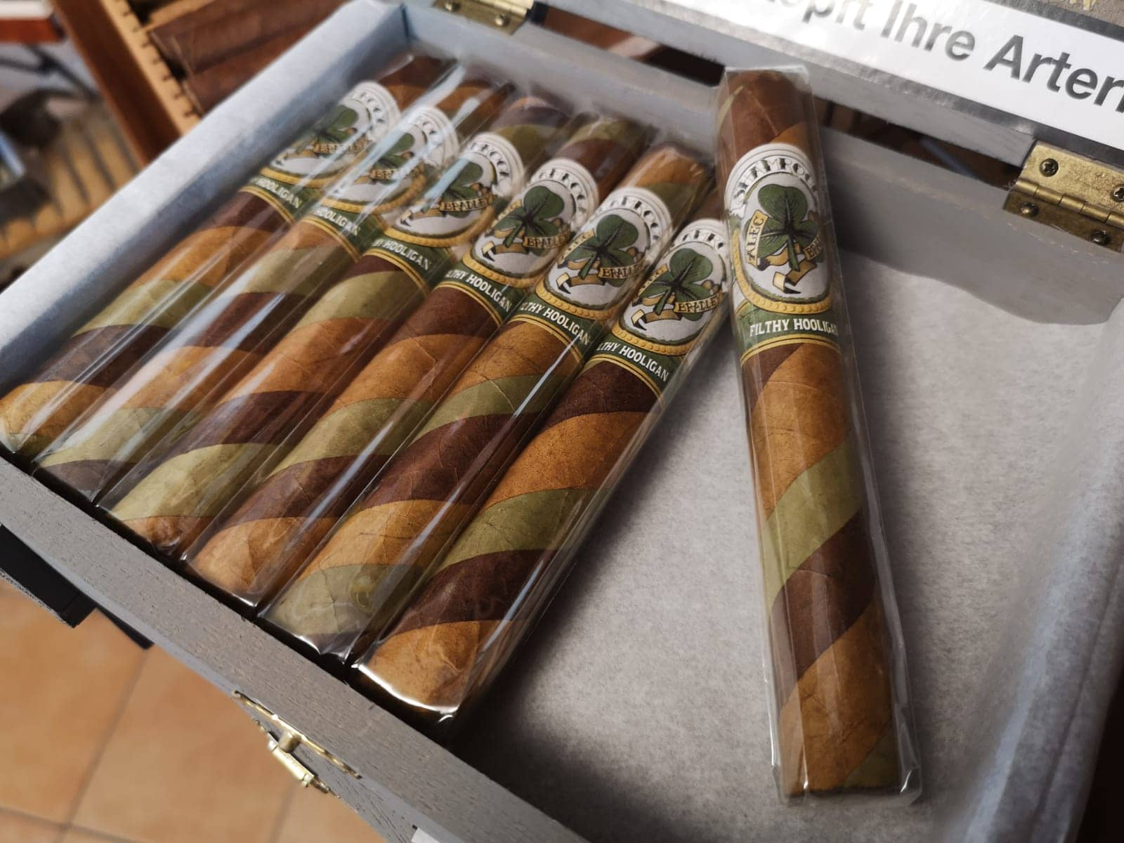 Alec Bradley Filthy Hooligan 2020