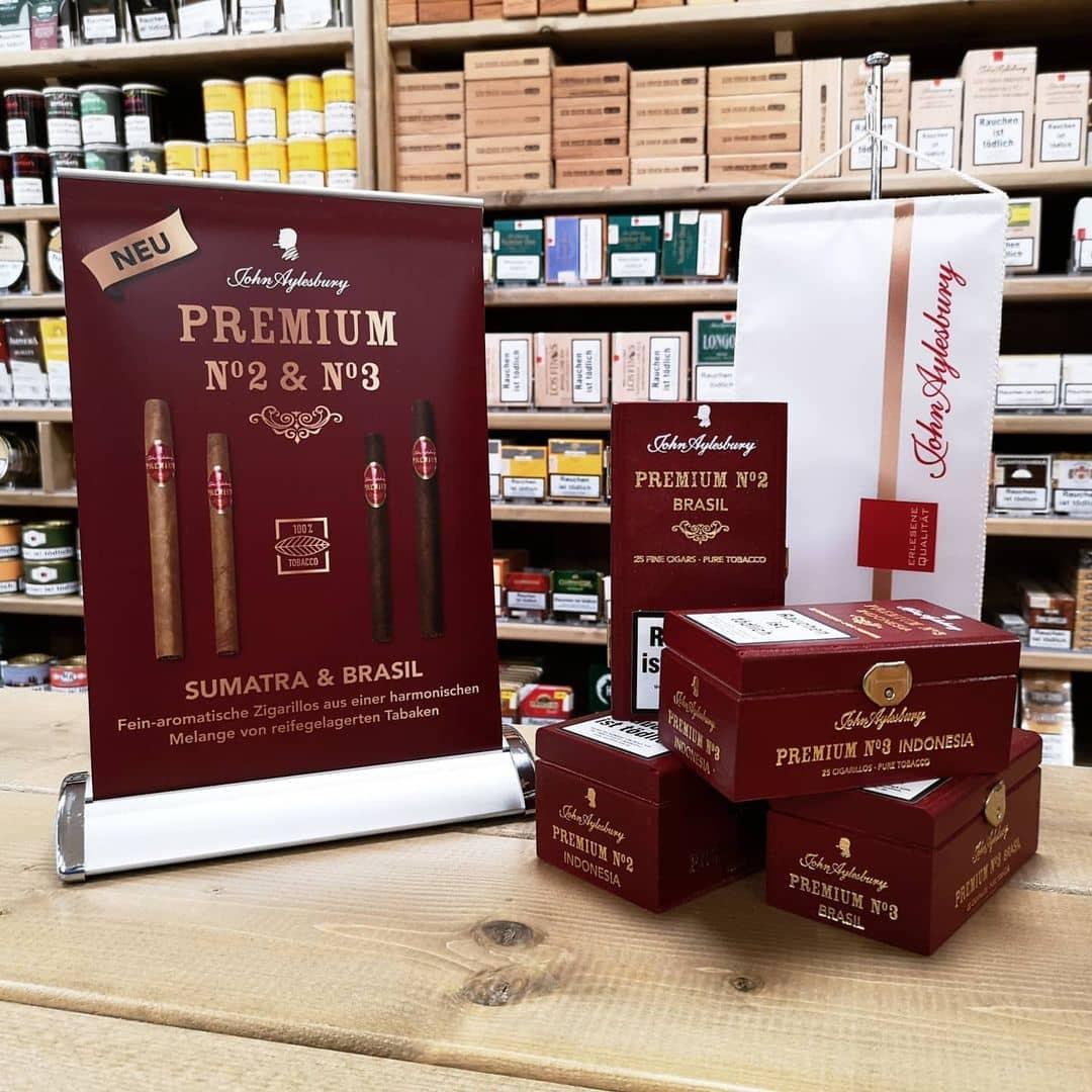 Premium Zigarillos in Brasil & Sumatra