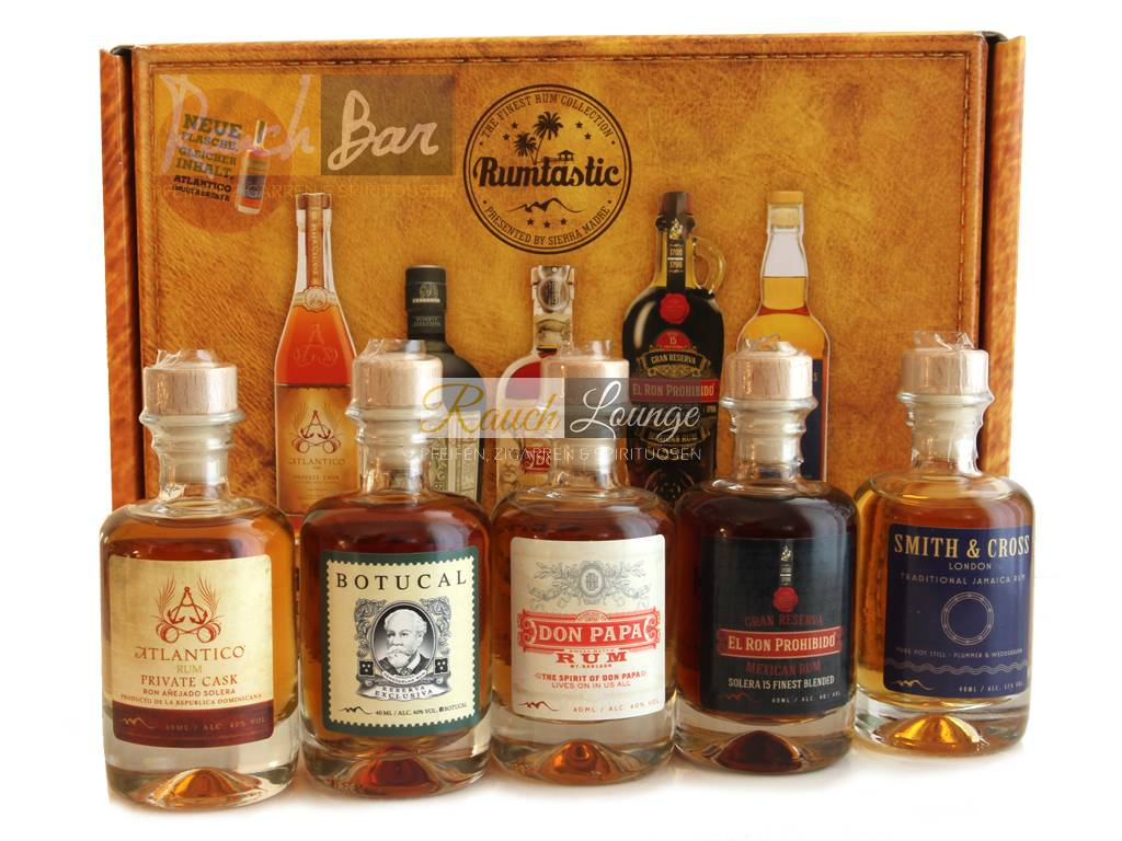 5 40 Rum Ml X Set Tasting Rumtastic Selection vm0N8nw