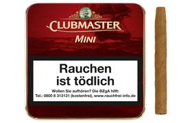 Clubmaster Mini Red Zigarillos 20er