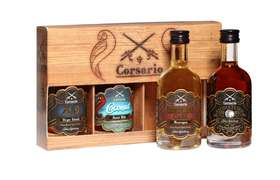 Corsario Rum Tasting Set 4 x 50 ml