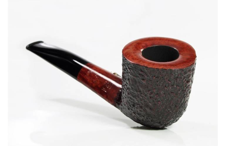 Savinelli Leonardo da Vinci Collection Balestra rustic Pfeife - 9mm