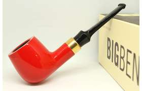 Big Ben Royal Goldline rot 012 - 9mm Pfeife