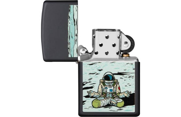 ZIPPO Feuerzeug Astronaut Sitting on the Moon - 60004849