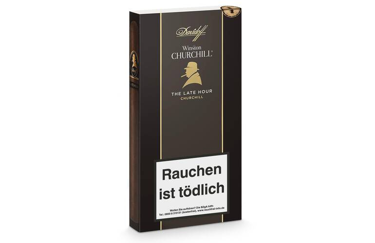 Davidoff Winston Churchill The Late Hour Churchill