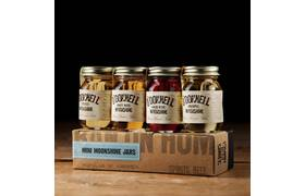 ODonnell Moonshine Mini Jar-Set 4 x 50ml Likör