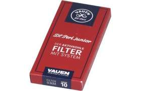 Vauen Dr. Perl junior Aktifkohlefilter 9mm Junior 10 Stück