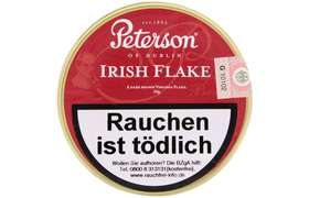 Peterson - Irish Flake - Pfeifentabak 50g
