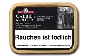 Samuel Gawith Cabbies Mixture Roll Cut Pfeifentabak 50g