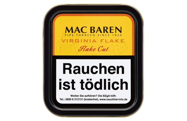 Mac Baren Virginia Flake - Pfeifentabak