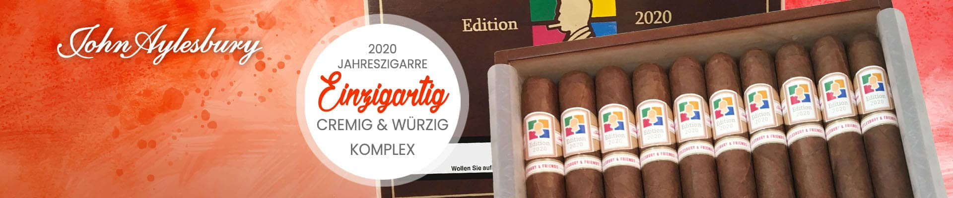 Jahreszigarre 2020 Limited Edition