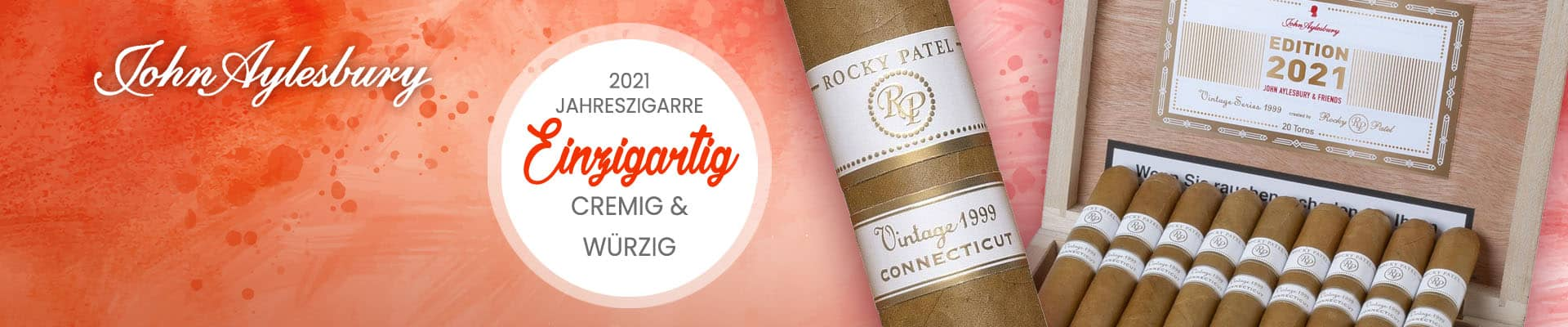 Jahreszigarre 2021 Limited Edition