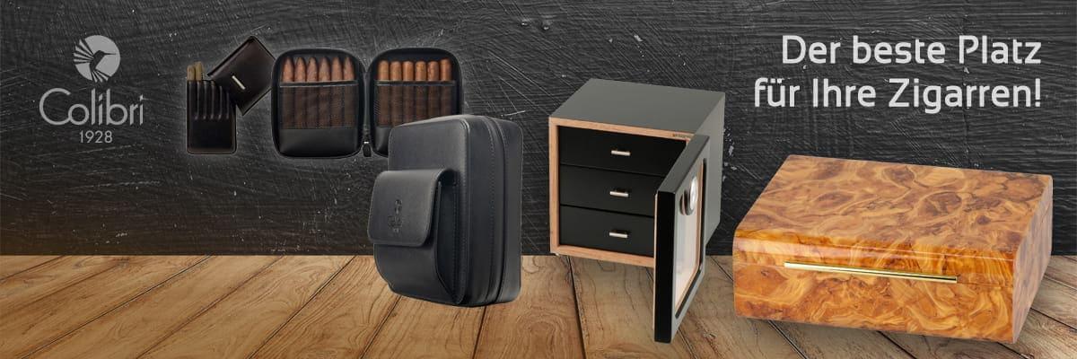 Zigarren Humidore, Taschen & Etuis